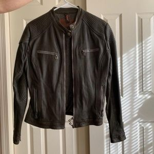 One of a kind Italian leather jacket